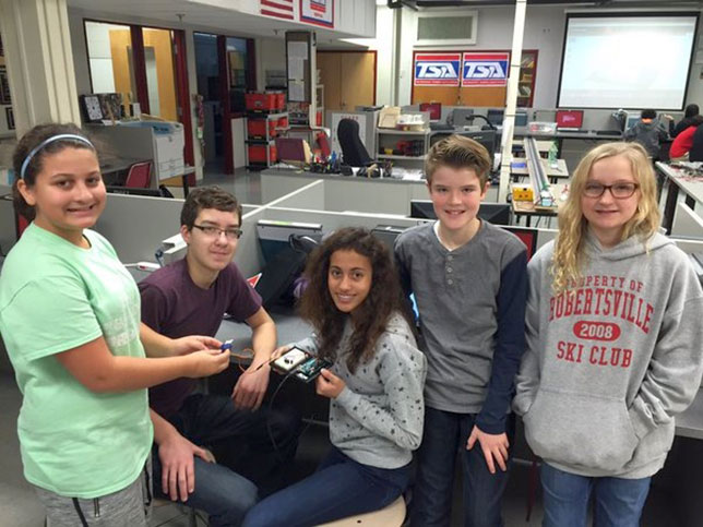 Robertsville Middle School CubeSat Project