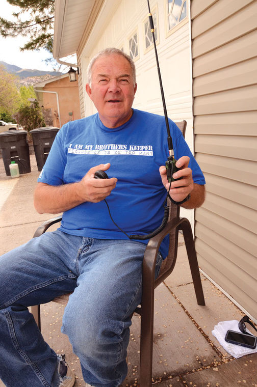 Monroe man helps in Uintah County emergency through ham radio