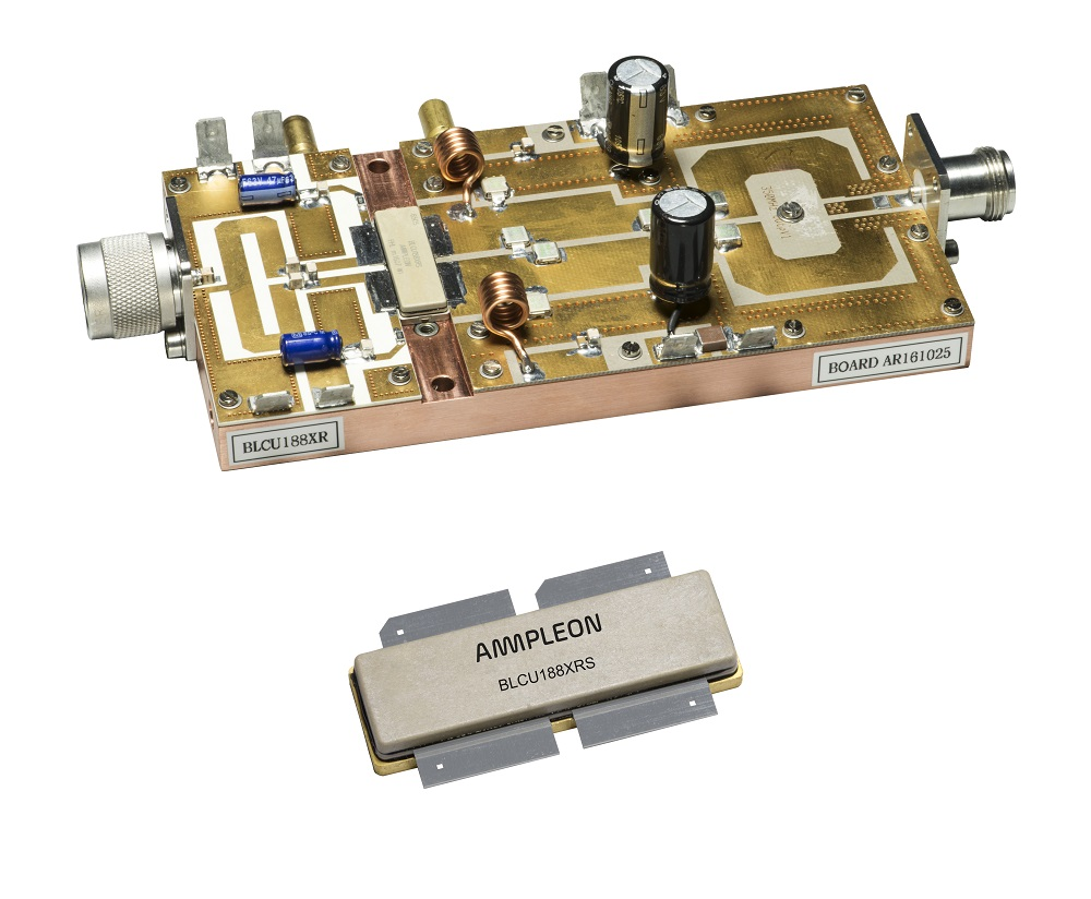 1400 CW extremely rugged reliable RF transistor withstands VSWR > 65:1
