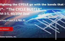 The Cycle Buster –  New HF Dual Antenna M2 !