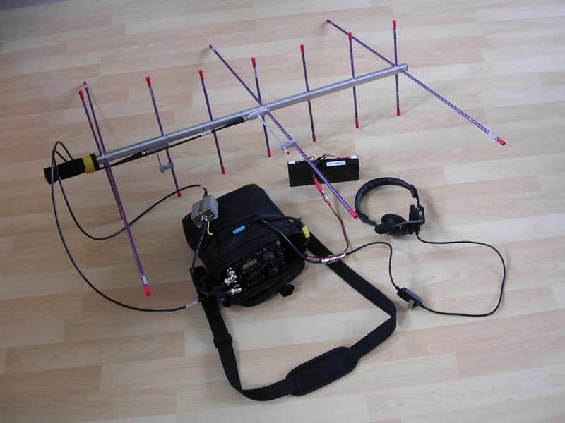 A Multi-purpose Portable Setup by PA1IVO