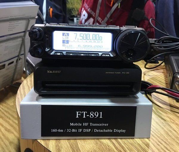 Yaesu FT-891- Dayton Hamvention 2016 [ Video ]