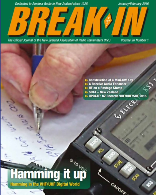 Break-In Magazine – ZL National Amateur Radio Society