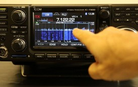 ICOM IC-7300 at the 2016 Dayton Hamvention