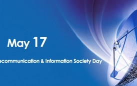 World Telecommunication and Information Society Day is May 17