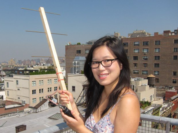 Listening to Satellites with a Homemade Yagi Antenna