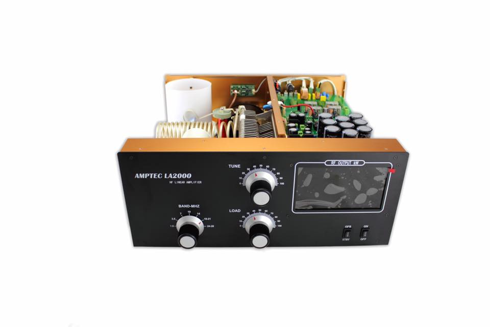 Amptec HF2015DX Amplifier [ Video ]