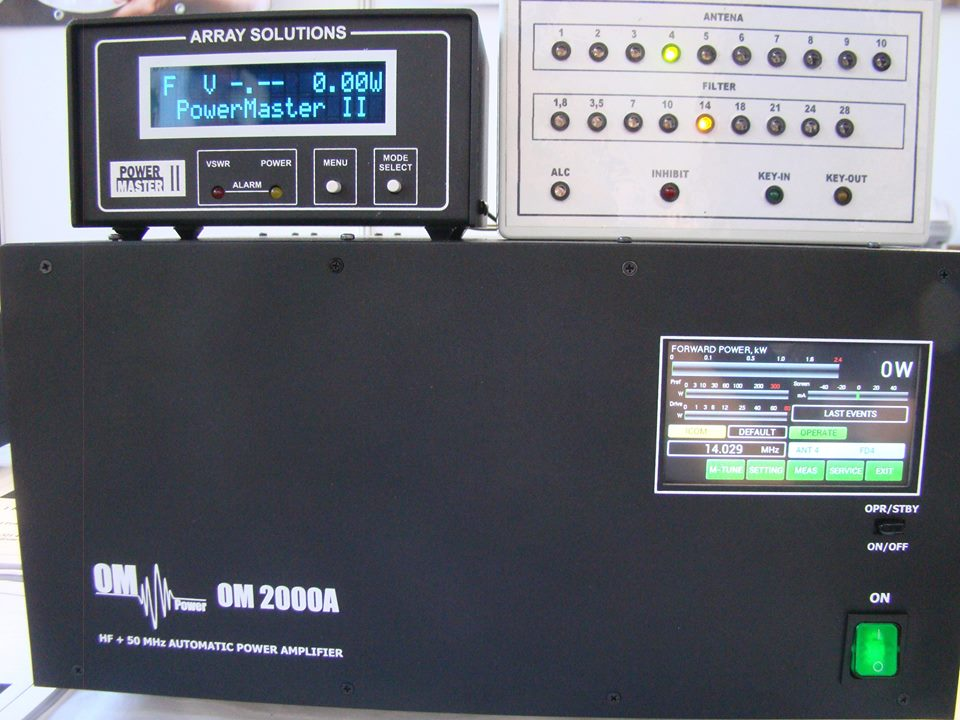 New Om Power 2000a 2 Kw Hf And 50mhz