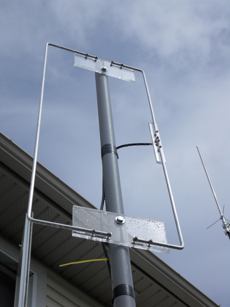 attic antenna ideas - Building 2 Meter Vertical Moxon