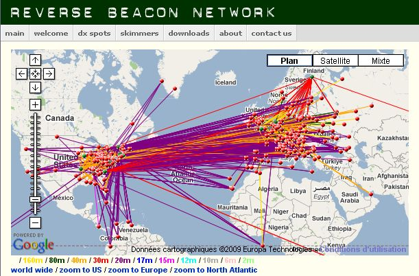 The Ham Radio Reverse Beacon Network, AD#32