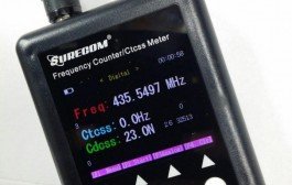 Surecom SF-401plus frequency counter CTCSS decoder