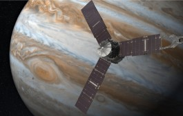 "Juno Spacecraft that Heard Hams Say ""HI"" Now Orbiting Jupiter"
