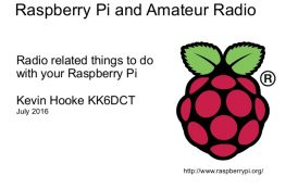 Amateur Radio Related Uses for the Raspberry Pi [Slides]