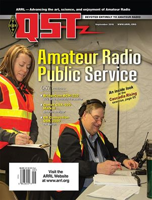 The September edition of Digital QST