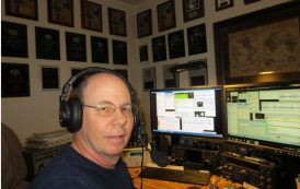 RTTY Contest Champ Don Hill, AA5AU, Achieves Remote Contesting Milestone