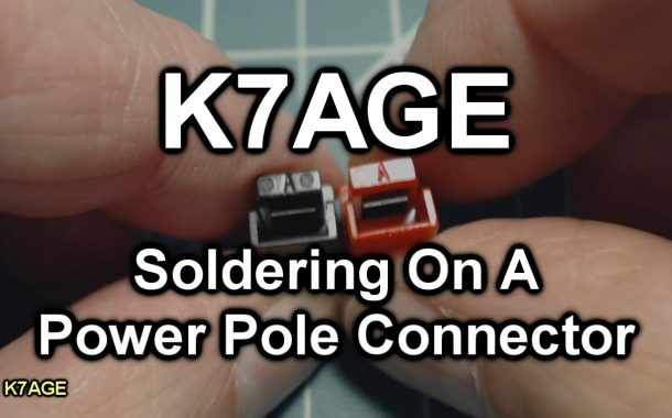 How to Solder Powerpole Connectors by K7AGE