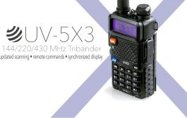 BTECH UV-5X3 Handheld Tribander Released