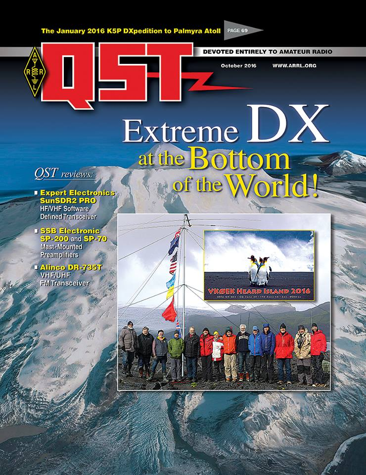 The October Issue of Digital QST is Now Available!
