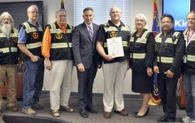 Volunteer group honored for emergency preparedness efforts