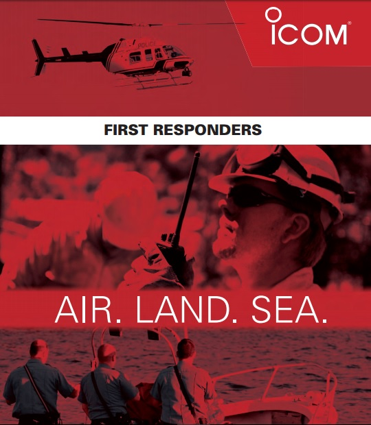 Icom AIR. LAND. SEA.  [ Brochure ]