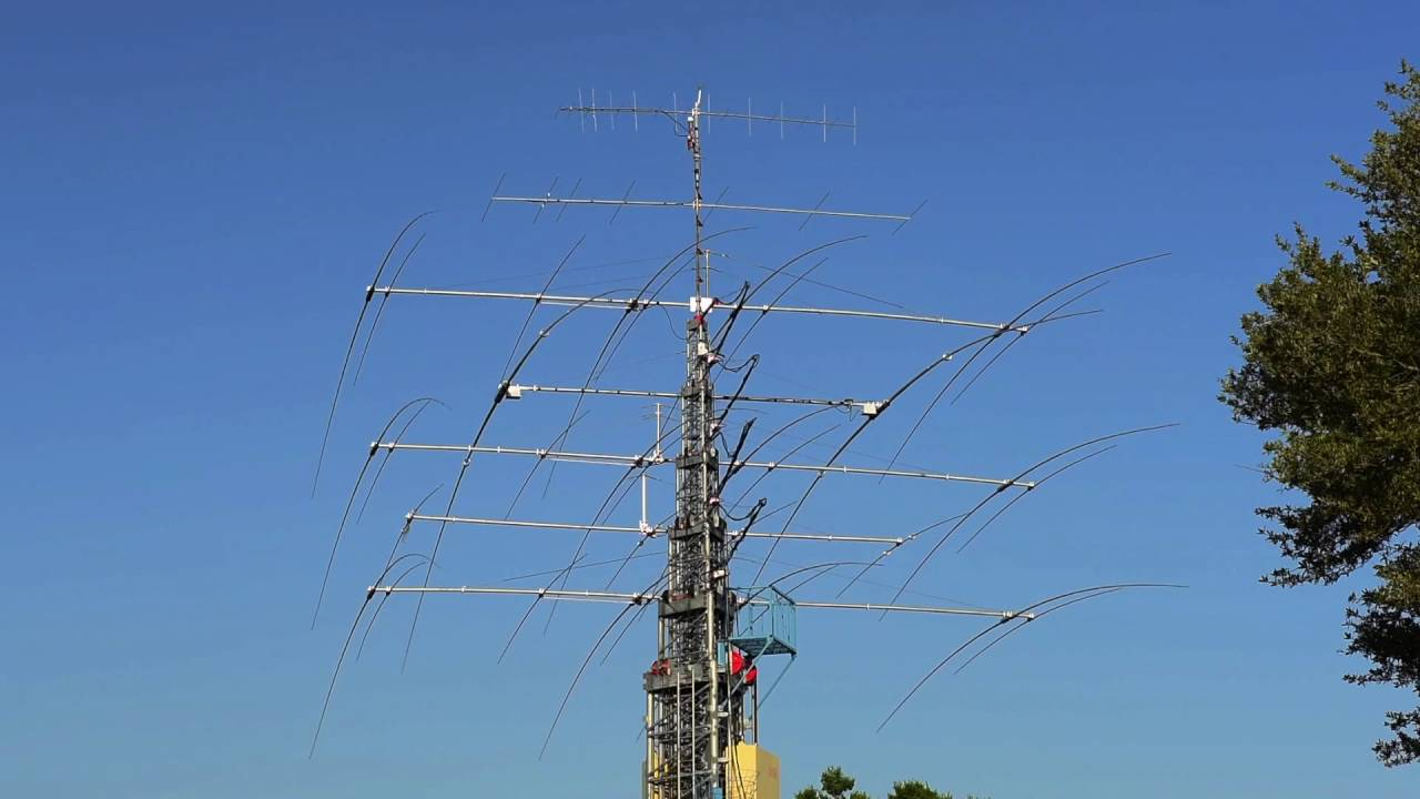 K8XS – JK Antennas Stack [ Video ]