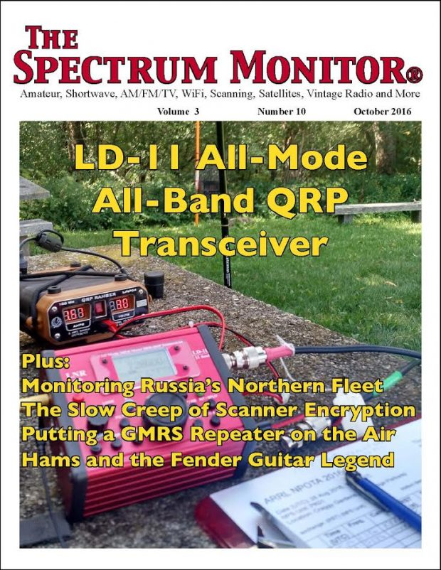 The Spectrum Monitor — October, 2016