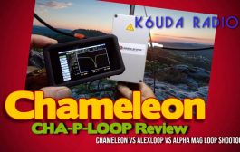 Chameleon -P-Loop Review Magnetic Loop Shootout Pt 1 – K6UDA Radio Episode 29