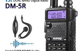 Baofeng DM-5R DMR Radio – Unboxing & First Impressions