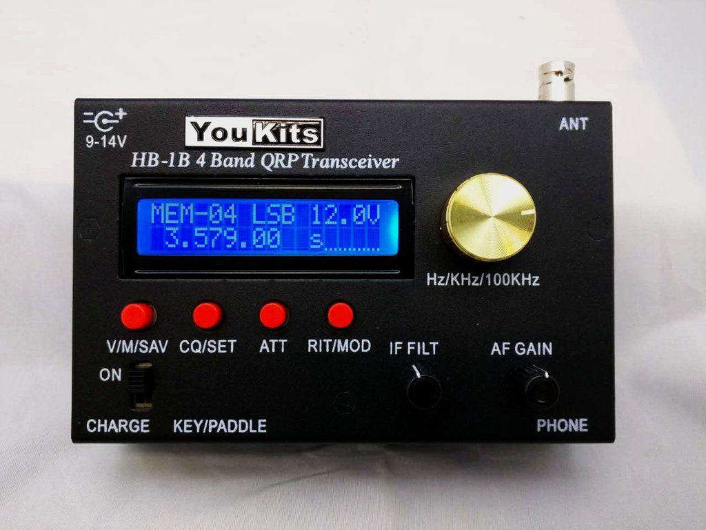 YouKits HB-1B Transceiver - ARRL Review