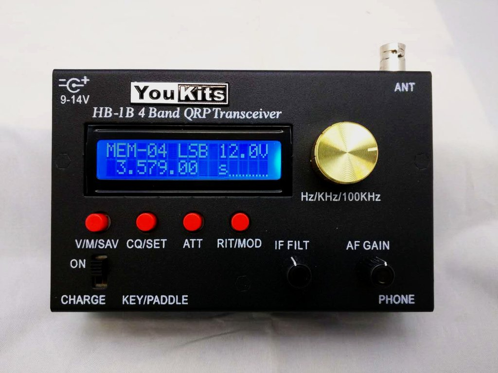 YouKits HB-1B Transceiver – ARRL Review
