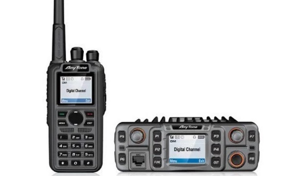 AnyTone AT-D868UV dual-band VHF and UHF DMR portable