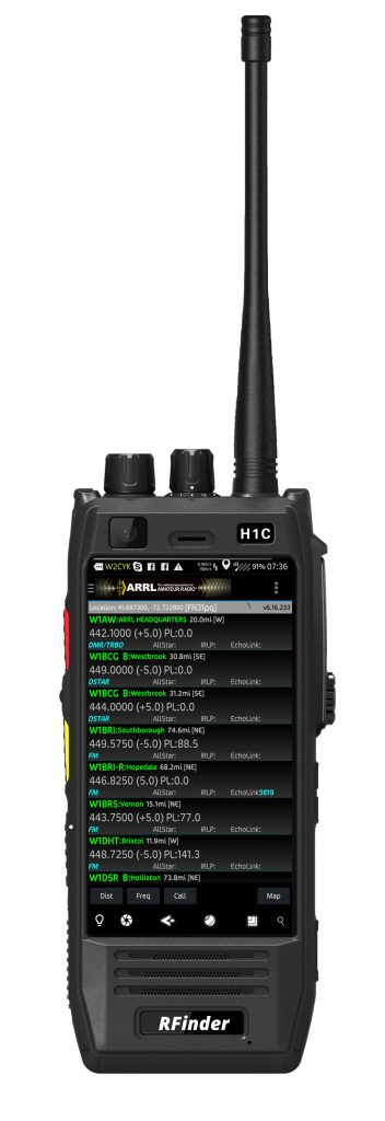RFinder Android DMR Interview – Ham Radio 2.0: Episode 60