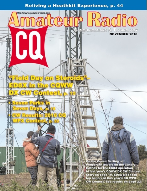 CQ's November Issue Preview