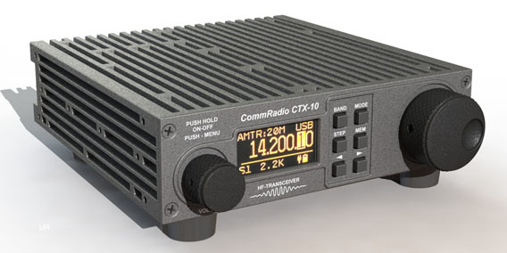 The CommRadio CTX-10 QRP