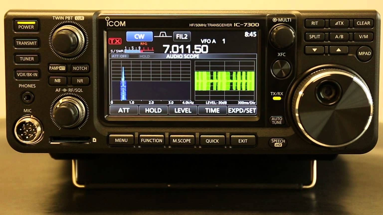 Icom IC-7300 Transceiver Drivers for Windows Mac