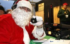 Kids Talk to Santa on Ham Radio