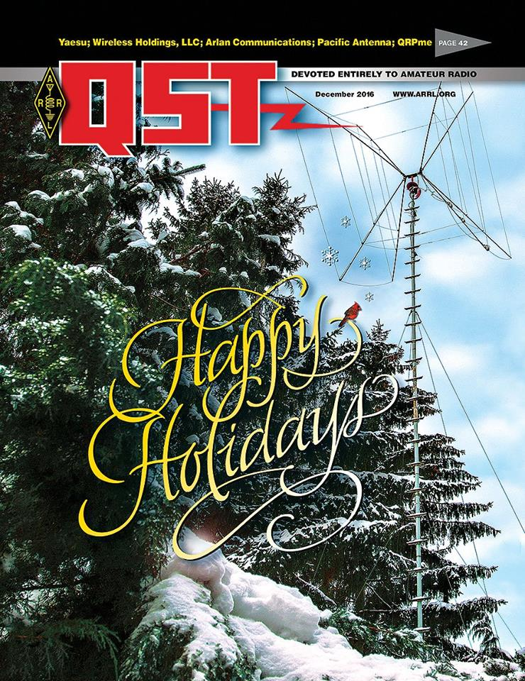 The December Edition of Digital QST is Now Available!
