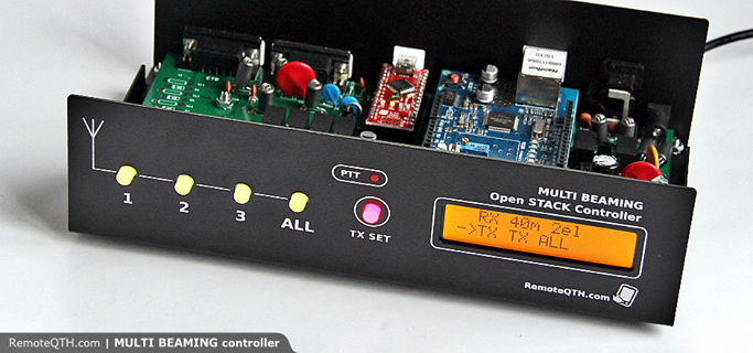 Antenna MULTI BEAMING remote Controller by OK2ZAW & DM5XX