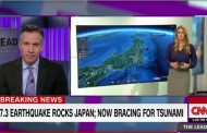 Tsunami reaches Japan after 7.3 quake near Fukushima, no threat to NZ