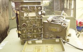 WWII Hand powered portable field HF radio BC1306 [ Video ]