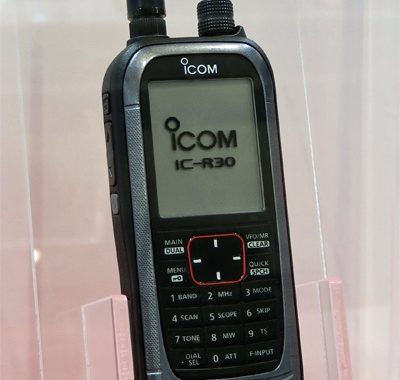 ICOM IC-R30 Scanning Receiver is Announced