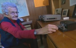 93-year-old WWII veteran still taps out Morse code