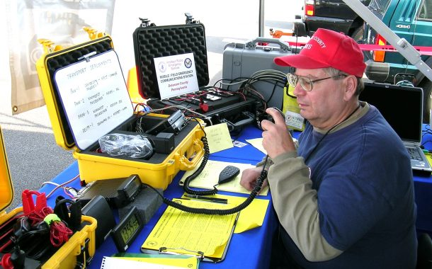 Amateur Radio Volunteers Providing Shelter Communication Support in Tennessee