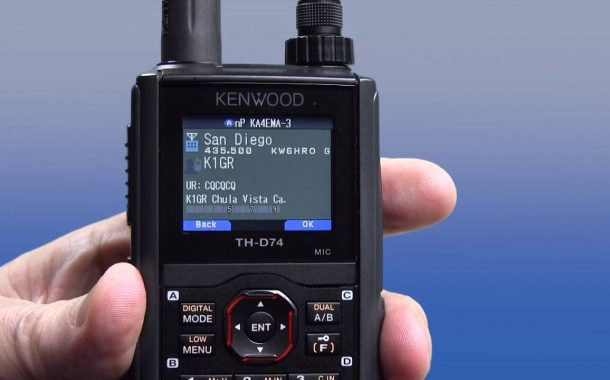 Kenwood TH-D74 – Review and Quick Tour (4K) – English version