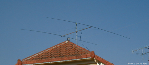The W8JK is a famous and effective DX Antenna