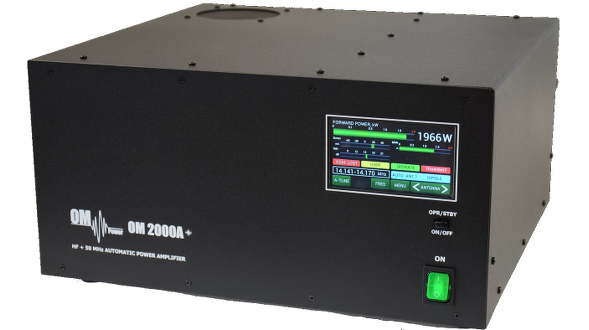 OM6BPF Band Pass Filter box and the OM2000A+ amplifier – Array Solutions Lab