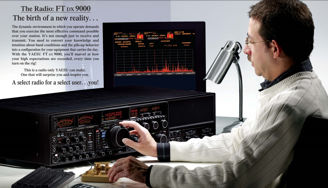 Universal Radio presents the Yaesu FTDX9000D