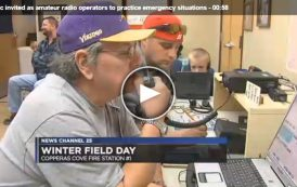Public invited as amateur radio operators to practice emergency situations
