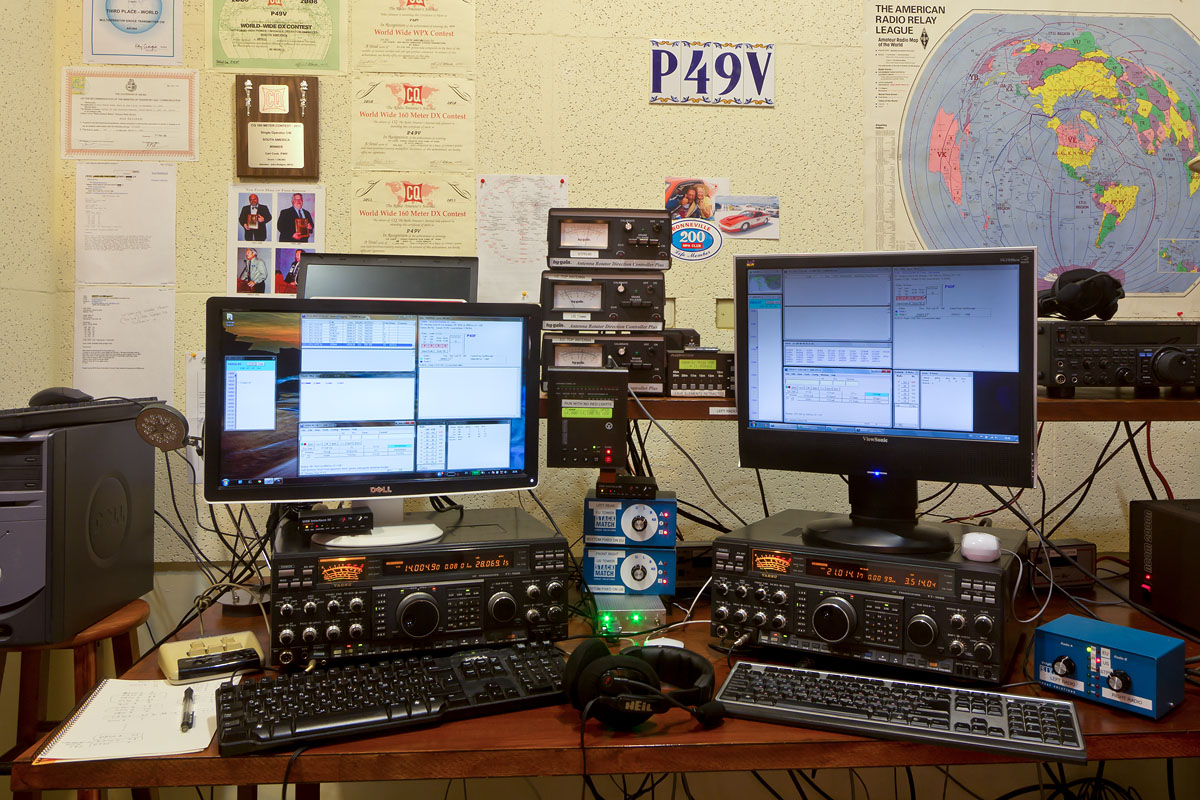 major competition stations ham radio 2017 RTTY Roundup
