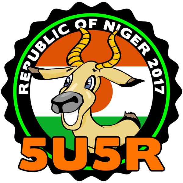 5U5R Niger Announced 60 meters Band Operation